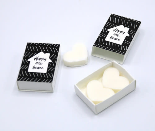 Doosje met Zeephartjes 'Happy New Home' - Soap & Gifts-1
