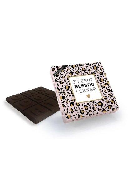 Pure Chocolade 'Jij Bent Beestig Lekker'
