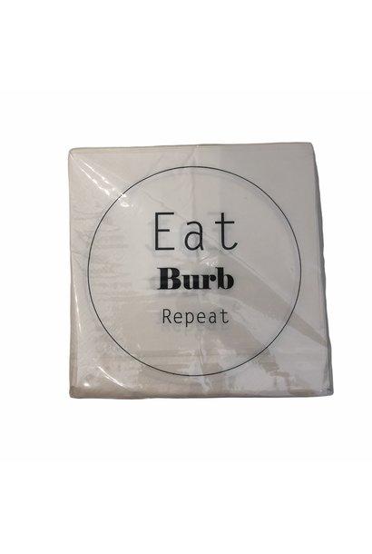 Servetten Eat Burb Repeat