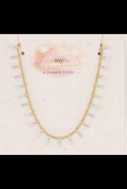 Necklace Pastel Colors