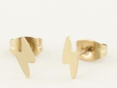 Oorbellen bliksem - My Jewellery-1