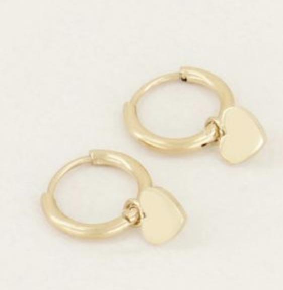 Oorringen  Hartje - My Jewellery-1