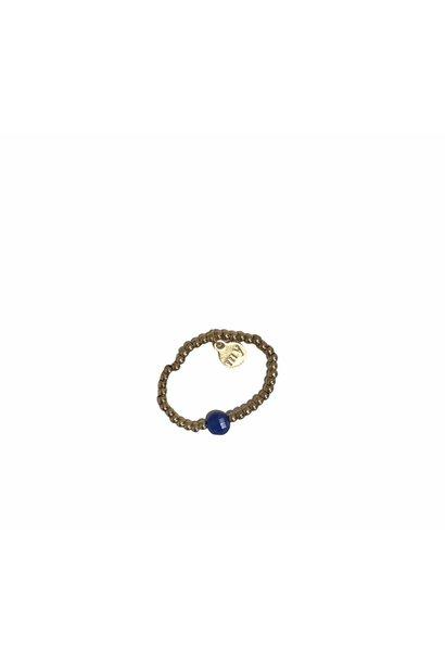 Ring Stretch Blauw