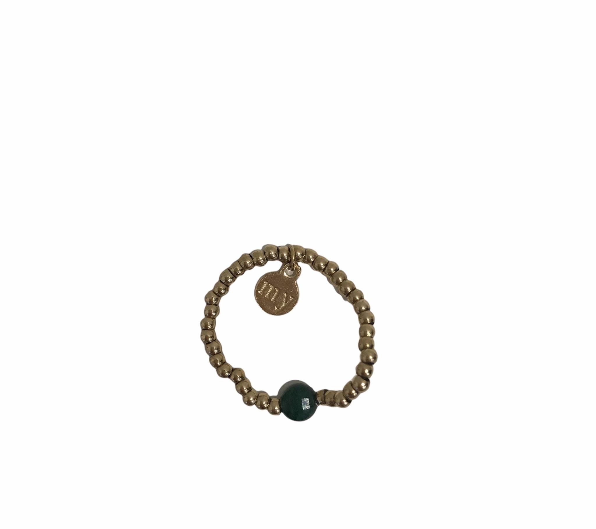 Ring Stretch Groen - My Jewellery-1