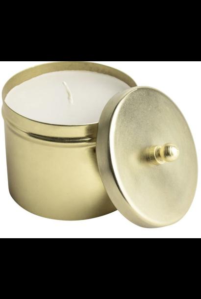 Candle Jar Gold