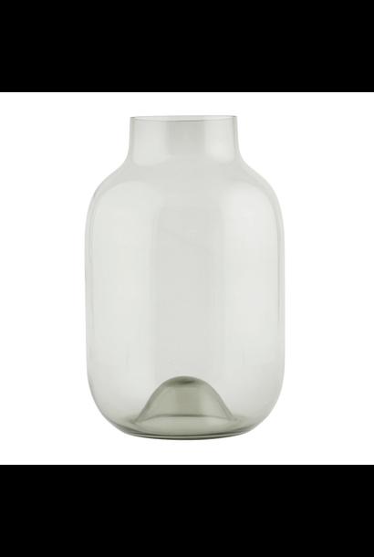 Vase Glass Grey Large