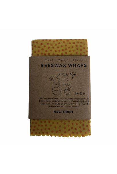 Beeswax Wraps Dots Small