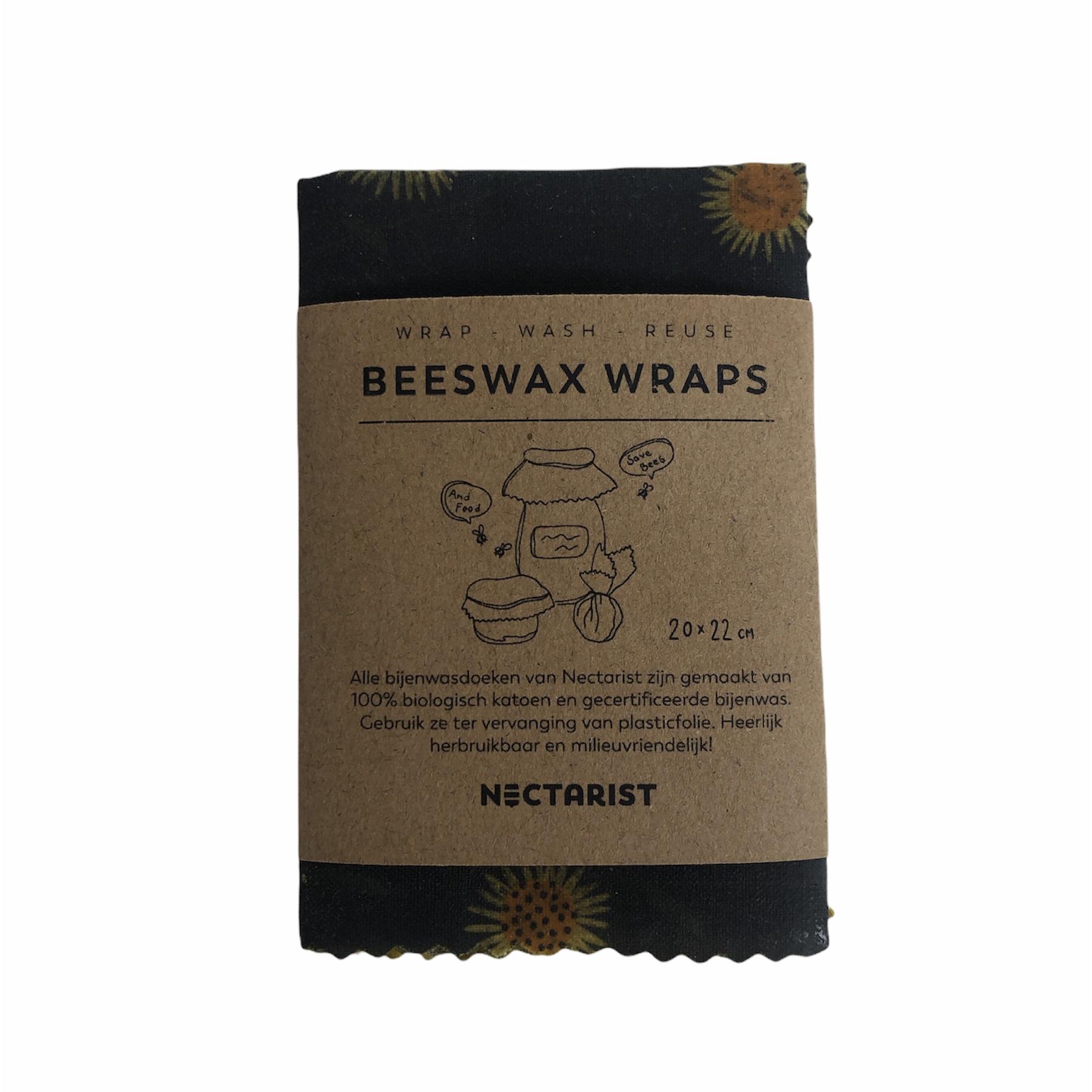 Bijenwasdoek Bloemen Small - Nectarist-1
