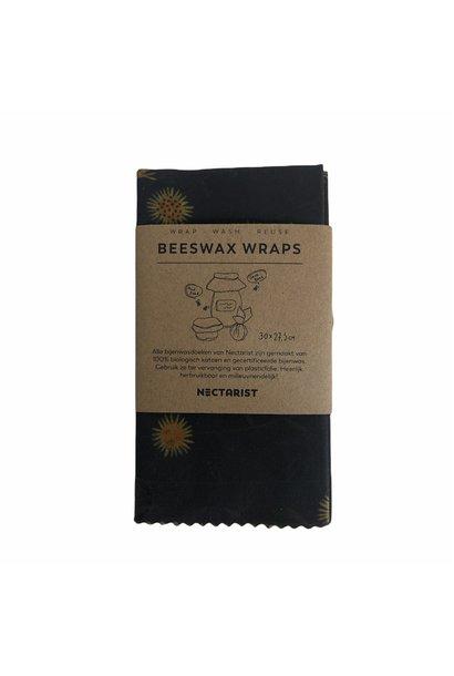 Beeswax Wraps Flowers Medium