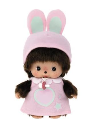 Baby Konijn Meisje - Monchhichi-1