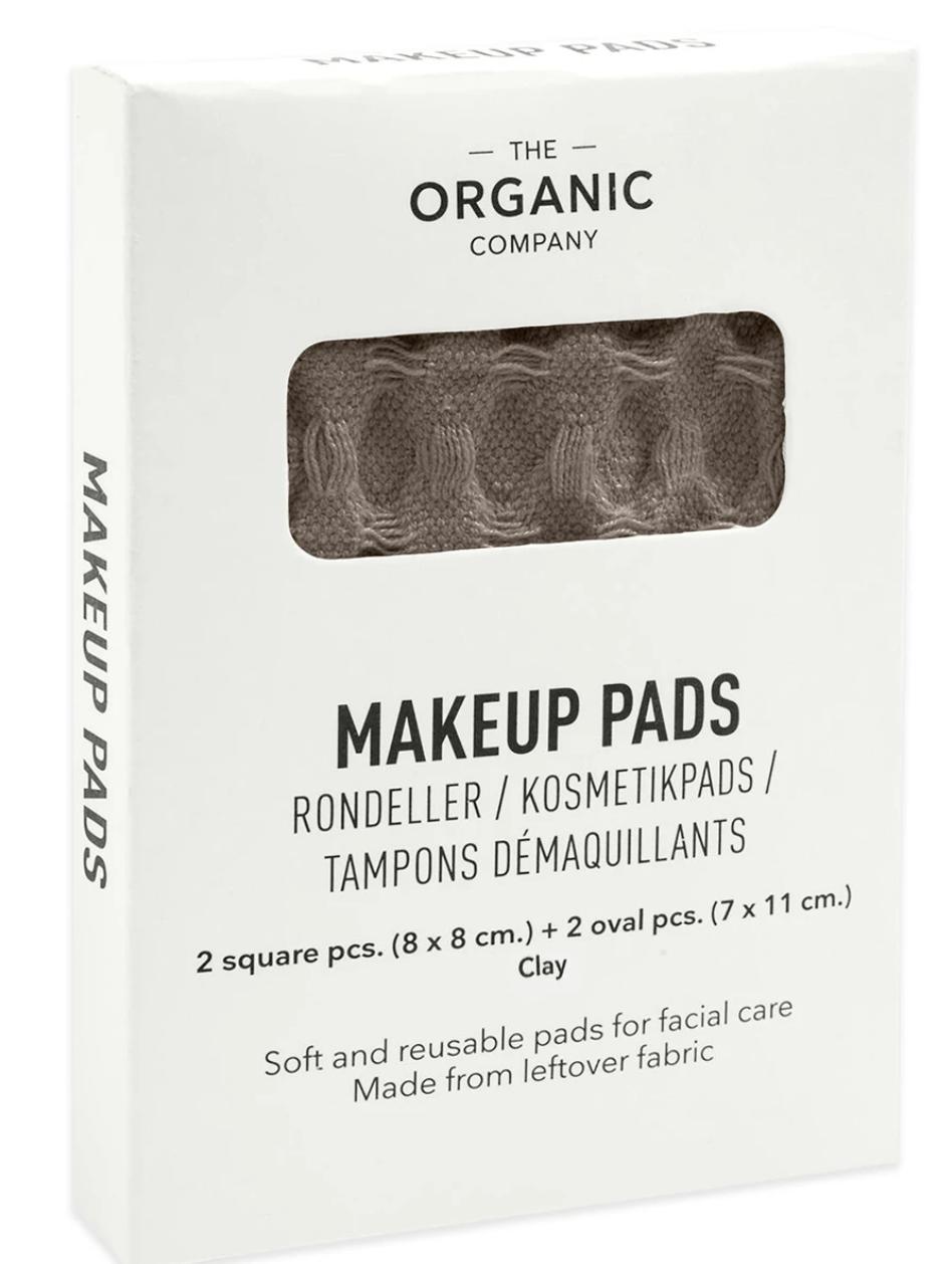 Make-Up Pads  Clay - The Organic Company-1