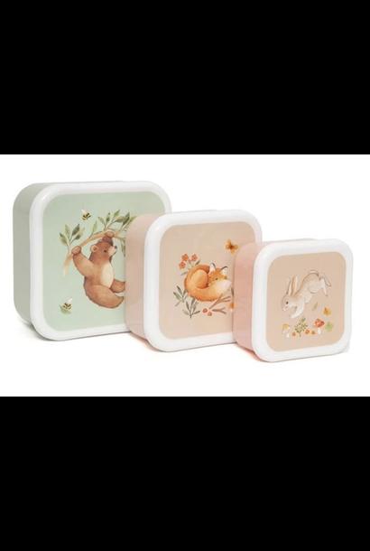 Snackbox Set Bear Friends