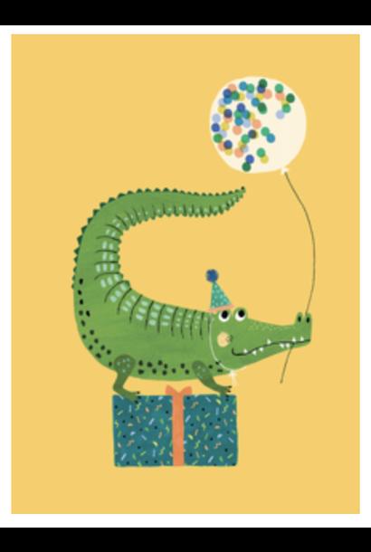 Kaartje Krokodil