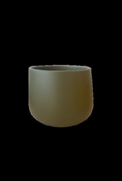 Vase Khaki Small