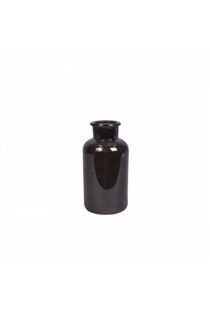 Melkfles Zwart Medium