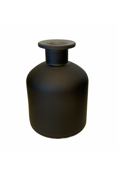Melkfles Zwart Mat Mini