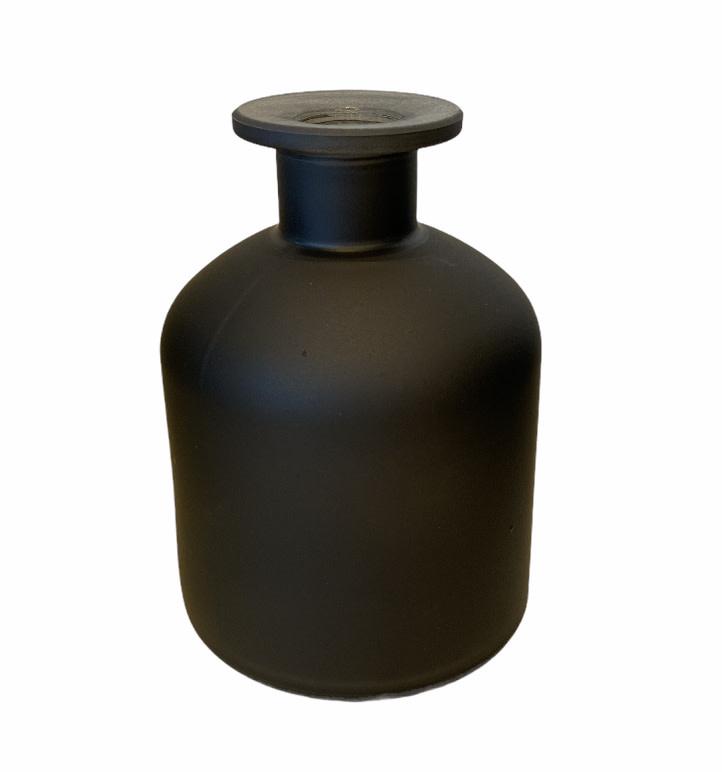 Melkfles Zwart Mat Mini-1