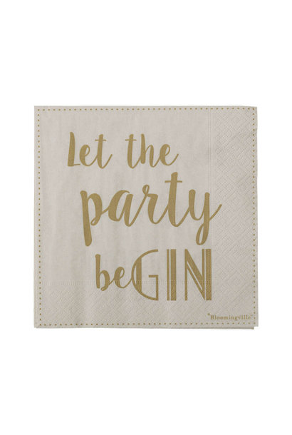 Servetten Let The Party BeGIN