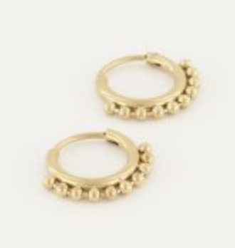 Oorringen Kleine Bolletjes - My Jewellery-1