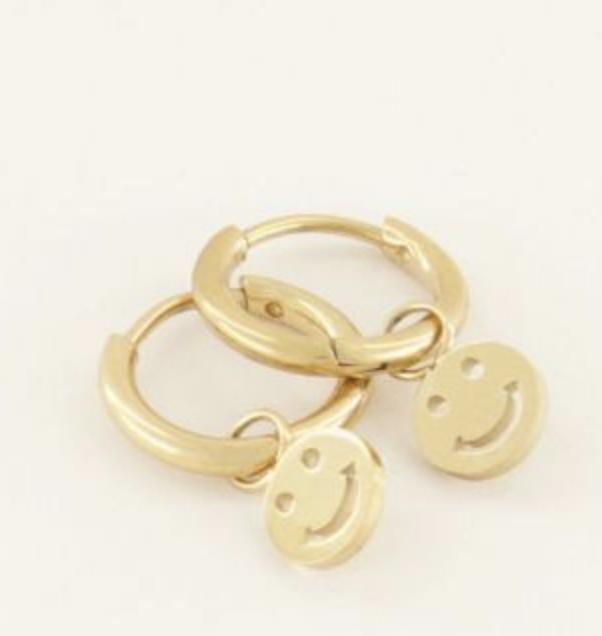 Oorringen Smiley - My Jewellery-1