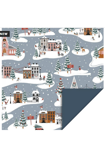 Wrapping Paper X-Mas Landscape