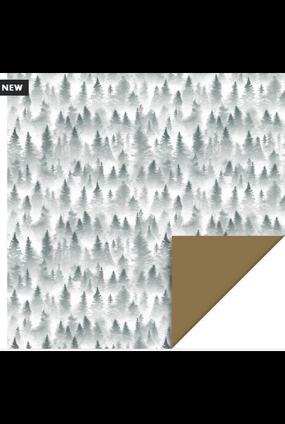 Inpakpapier X-Mas Forest
