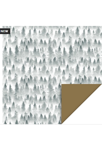 Wrapping Paper X-Mas Forest