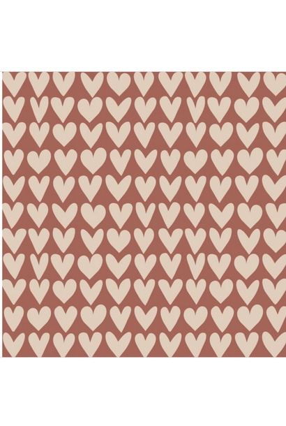 Wrapping Paper Love Red