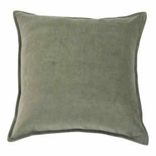 Kussen Velvet Army Green-1
