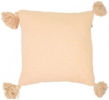 Kussen Soft Orange Tassel - Goround Interior-1