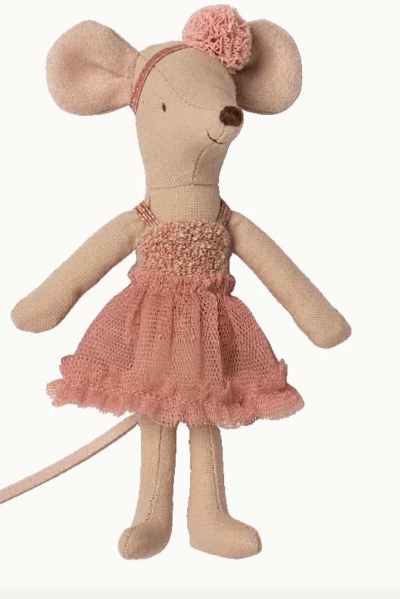 Dance Mouse Big Sister Mira Belle - Maileg-1