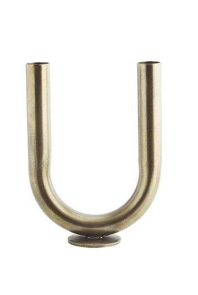 Vase Tube Gold