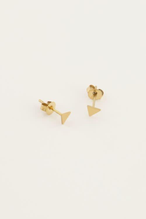 Oorbellen Driehoekje - My Jewellery-1