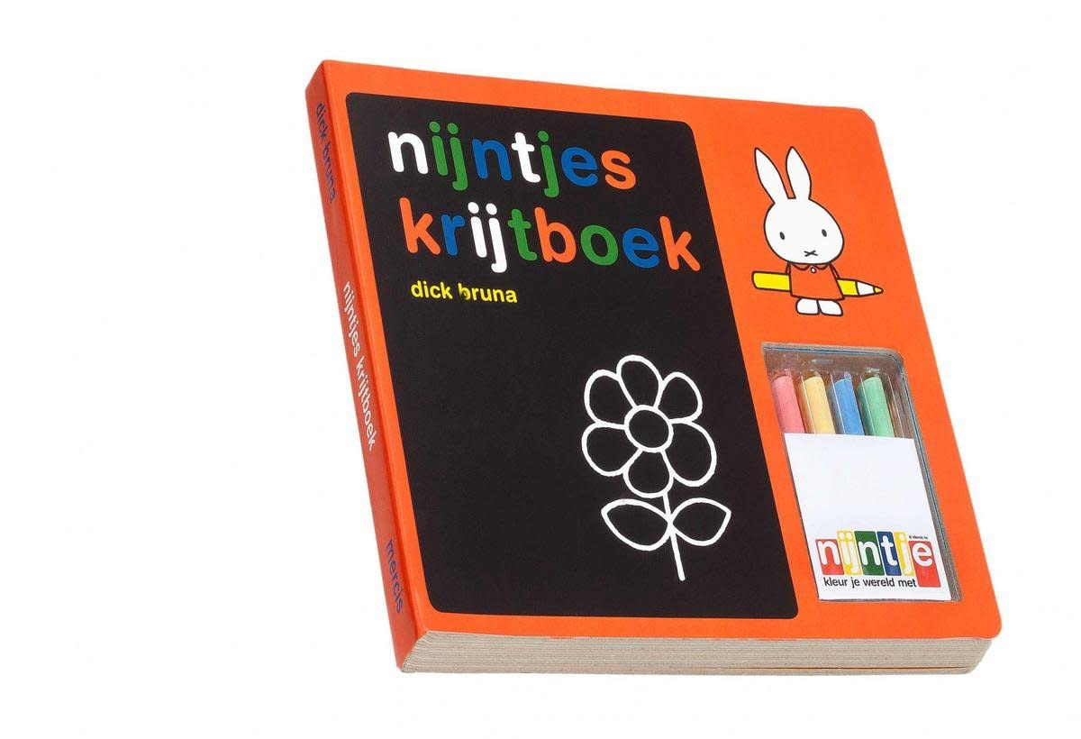 Nijntjes Krijtboek - Nijntje Miffy-1