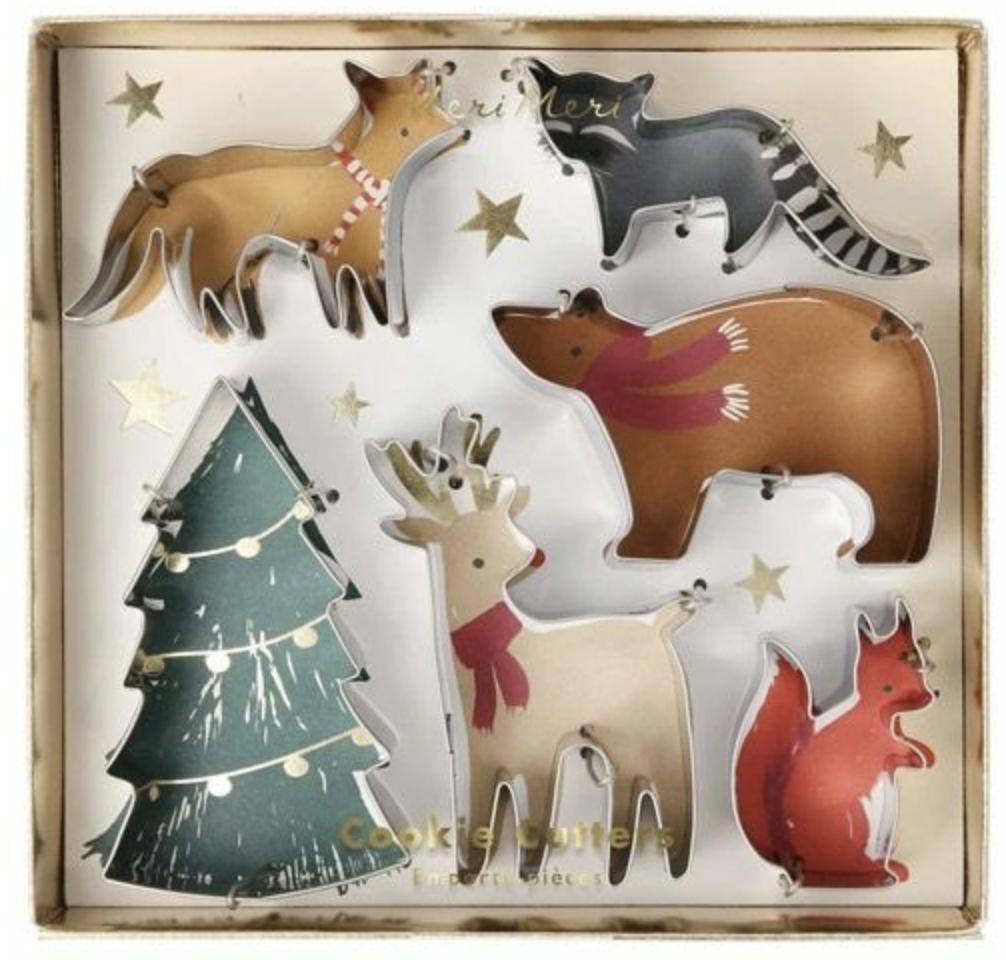 Koekjesvormpjes Kerst - Meri Meri-1