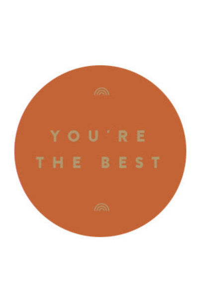 Stickervel - You're the best