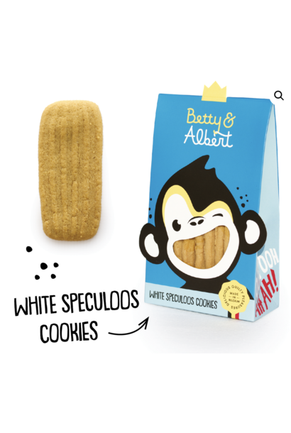 White Speculoos Cookies