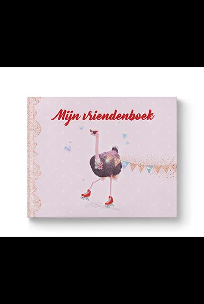 Vriendenboek Struisvogel