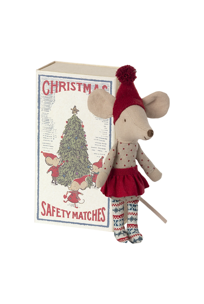 Christmas Big Sister Mouse In Box