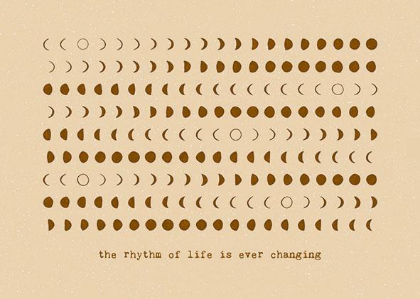 Kaartje The Rythm Of Life - Anna Cosma-1