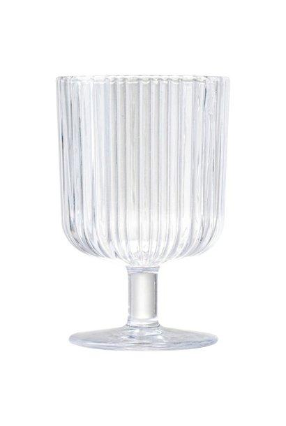 Wijnglas Ribbel