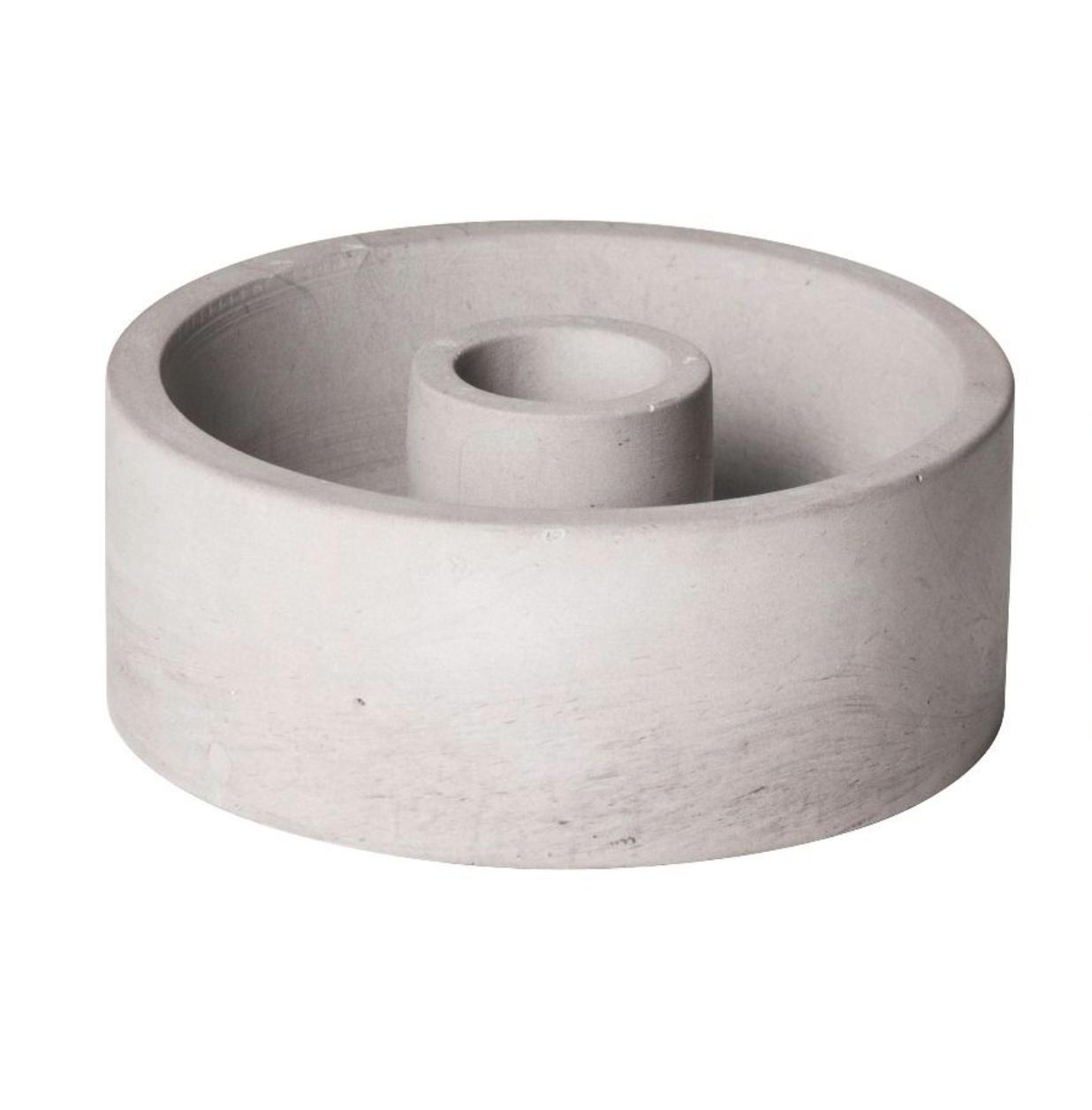 Kaarsenhouder Cement - Small - Gusta-1
