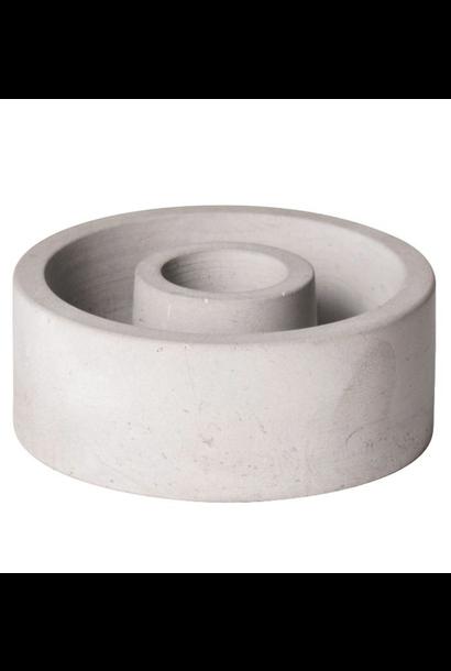 Kaarsenhouder Cement - Medium