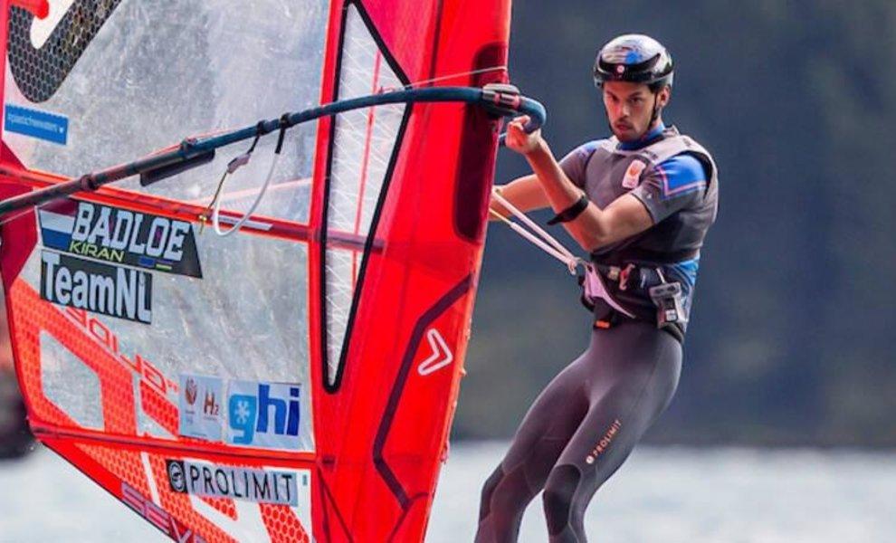 Kiran Badloe eerste Europese Kampioen windfoiling