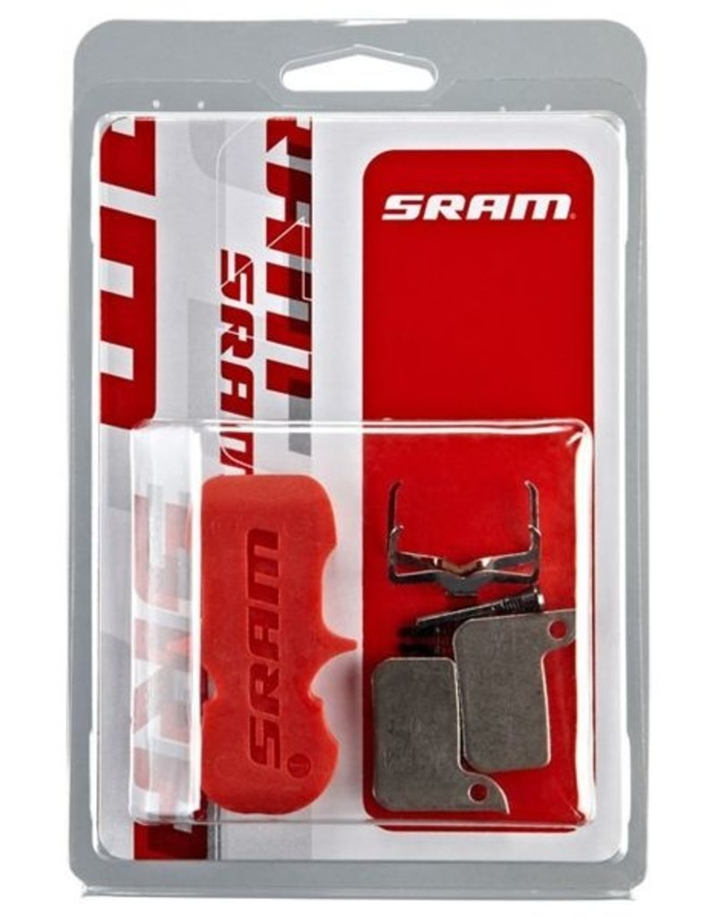 Sram SRAM BRAKE PADS ORGANIC/STEEL (INCLUDES GUIDE PIN, CLIP & PAD SPREADER) - SRAM HYDRAULIC ROAD SRAM - AVID , ULTIMATE/TLM: