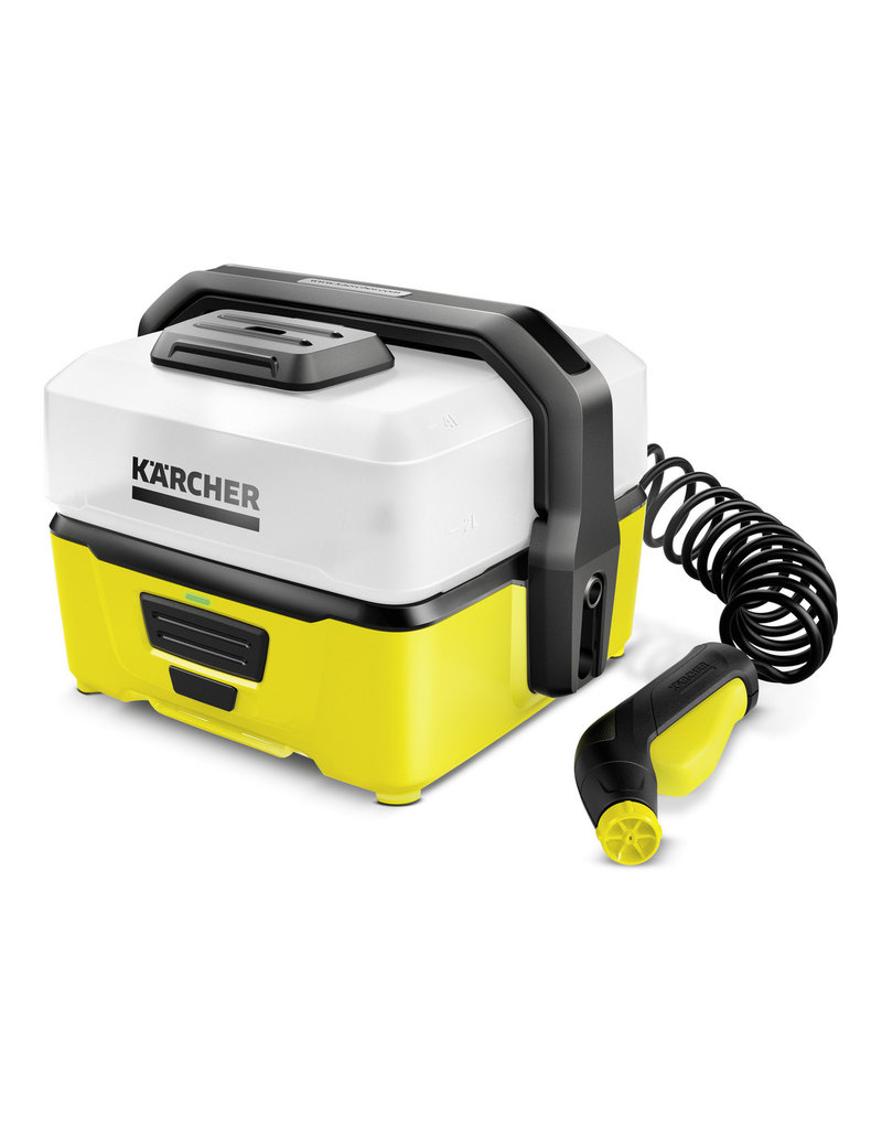 OC3 Mobile Outdoor Washer Yellow 4 litres