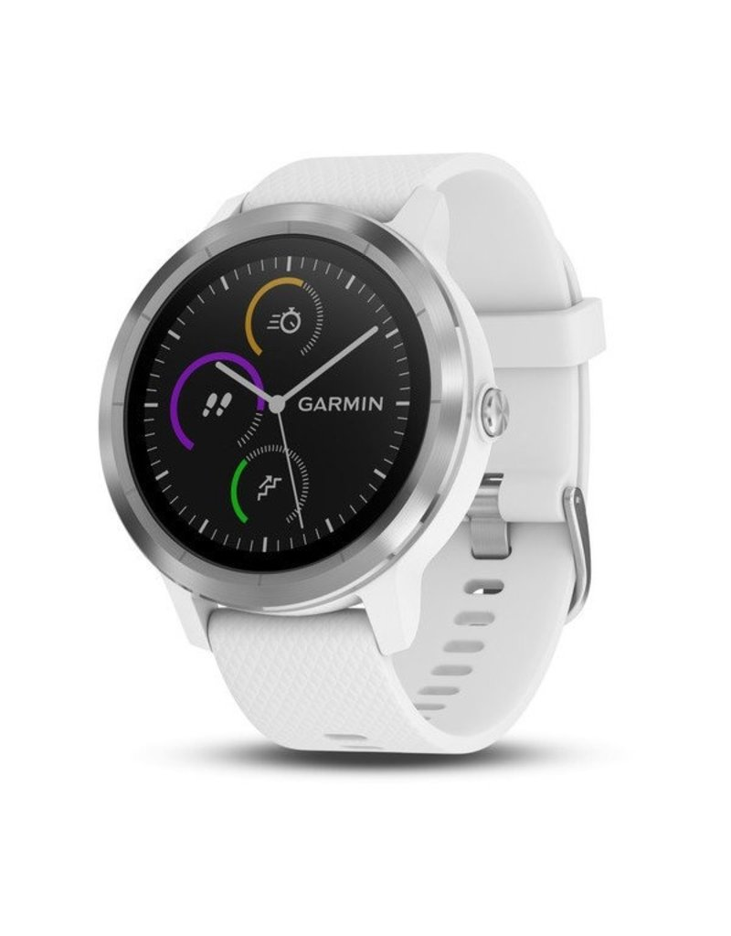 Garmin vivoactive 3, White & Stainless Steel