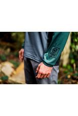 Kona Mens Custom Jersey Long Sleeve Green