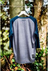 Kona Mens Custom Jersey Short 3/4 Teal