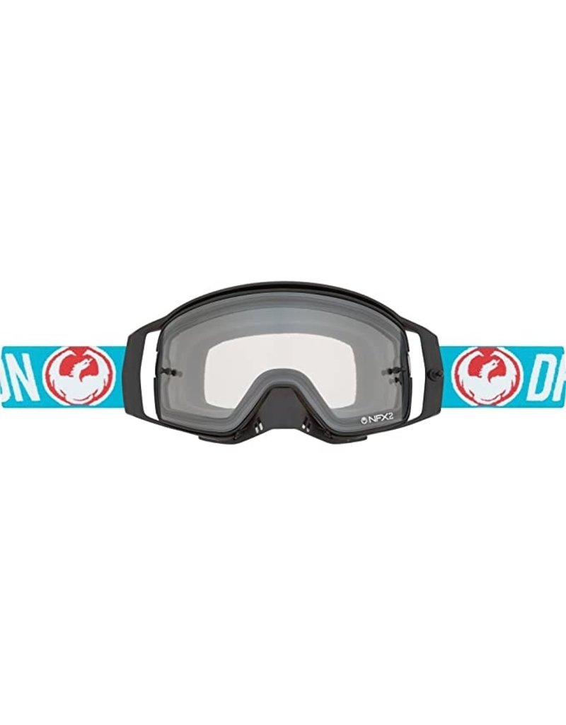 Dragon GOGGLE NFX2 Flash BE / Injected BE S Blue one size